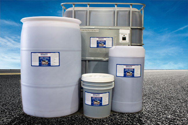 photo of Asphalt Roller & Rubber Tire Release product containers