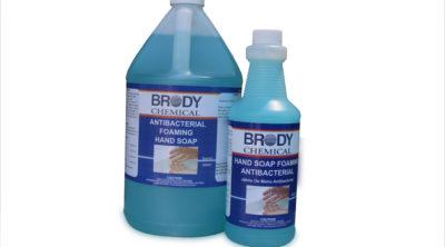 Brody Chemical's Antibacterial Foaming Hand Soap