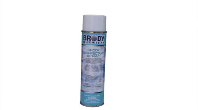 Bottle of Brody Chemical's Disinfectant Spray product